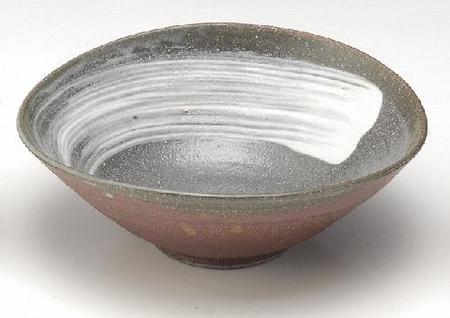 茜たわみ鉢(中)