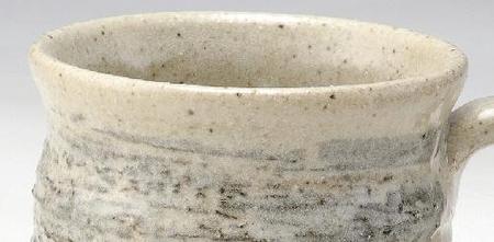 墨刷毛コーヒー碗皿