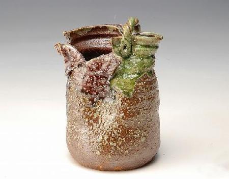 花器 南蛮砂掛手桶