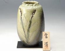 花瓶 稲穂