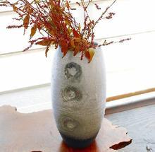 花瓶 渦紋