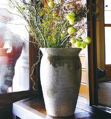 大物花器 紫香楽大壷