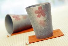 花hana タンブラーペア(麻コースター付)