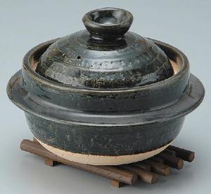 耐熱 釜型飯炊き(3合用)