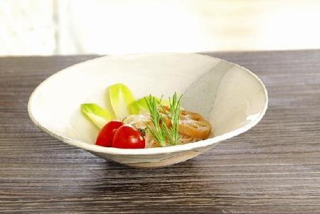 白水晶 平鉢