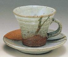 松葉コーヒー碗皿