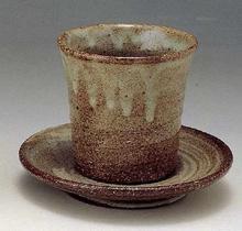 まゆ釉 碗皿