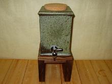 焼酎サーバー古緑窯   (1升用)