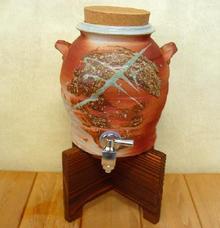 焼酎サーバー  赤窯 (1升用)