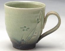 花小紋 マグカップ