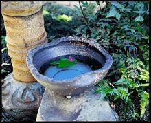 古釉窯変 水鉢