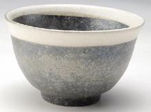 黒銀彩茶漬け碗