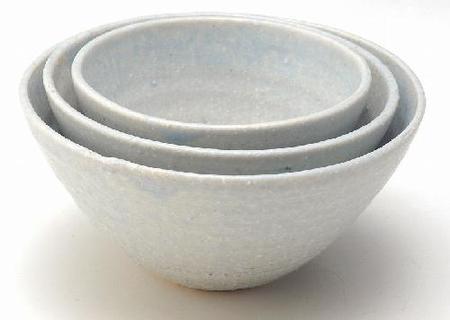淡藍マルチ鉢(小)