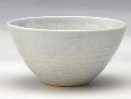 淡藍マルチ鉢(中)