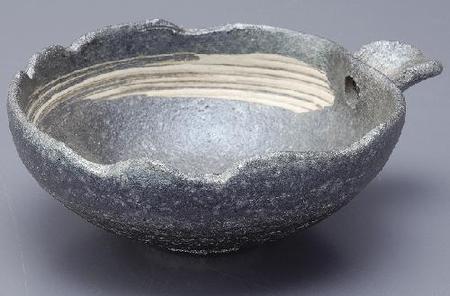 銀彩 片口鉢