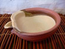 信楽焼 焼〆片口小鉢