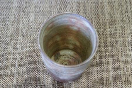 信楽灰釉カップ