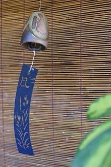 信楽焼 風鈴  紫香楽