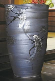 大物花器 楽窯