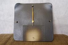信楽焼 掛時計 黒ボタン